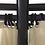 Thumbnail: Tonnelle Ronde avec Rideaux 3,5 x 2,7 m