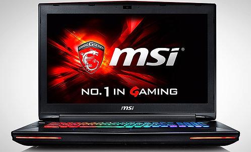 "Pc Portable MSI Dominator 17.3"", Intel Core I7, 16GB, 2X128SSD, 1TB , NVDIA GTXM"