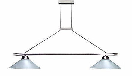 """Luminaire """"Opale"""" 2 Domes"""