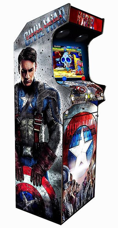 Borne D'arcade Captain America 600 Jeux