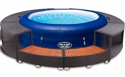Spa Jacuzzi Cuve thermale gonflable 196x61cm