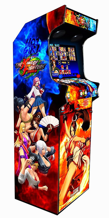 Borne D'arcade King Of Fighters Girl 10000 Jeux