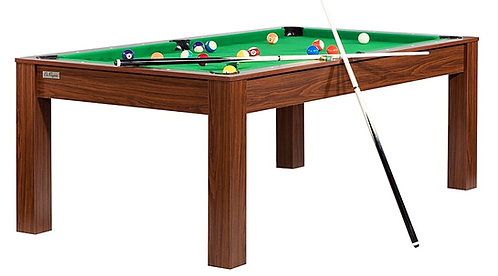 Billard Convertible en Table 7Ft Wengé Boisé