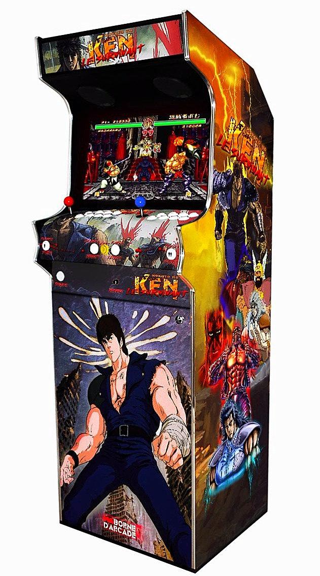 borne arcade ken le survivant