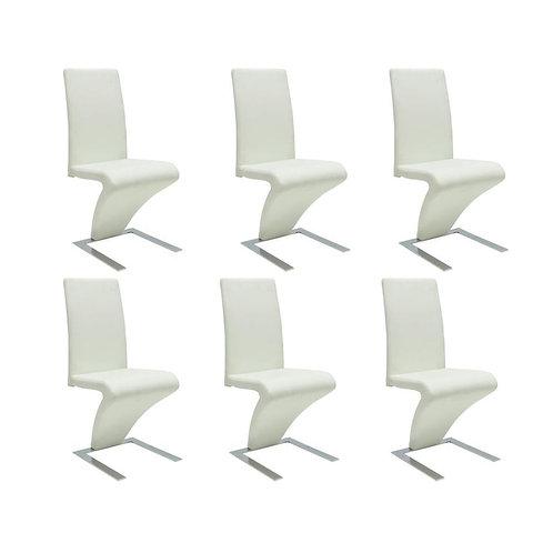 6 Chaises Noir ou Blanche
