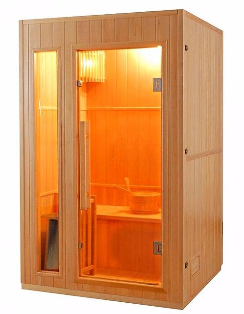 Sauna Finlandais Avec Poêle et Accessoires