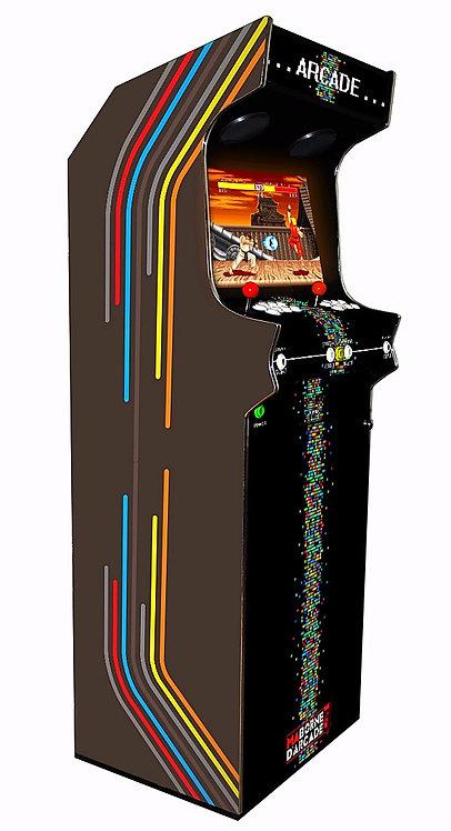 Borne D'arcade Colorstripes 600 jeux avec Monnayeur