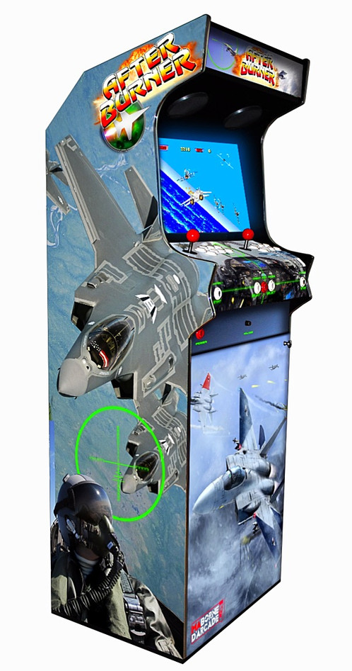 borne arcade after burner