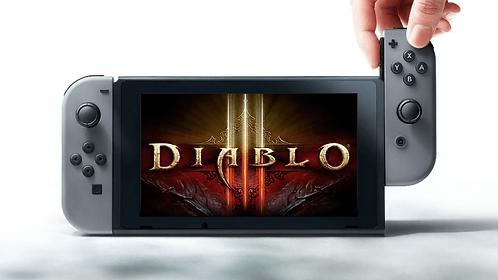 Nintendo Switch + Diablo