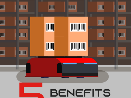 5 most important benefits in using the AGV system