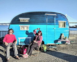 A little spot just down the way from Alcatraz,C A_#treasureislandflea _#glamping