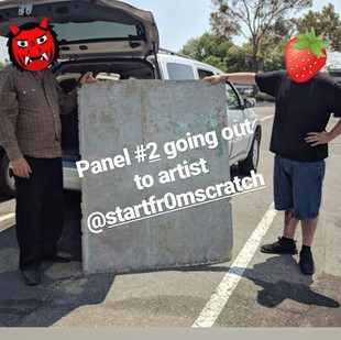 Panel #2 going out to artist _startfr0ms