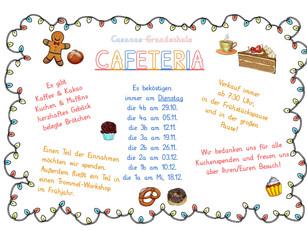 24.11.19 Kuchenverkauf in der Vorweihnachtszeit