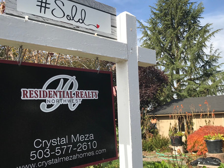 It's Official...Our Cutie in Canby is Sold!