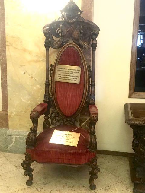 Presidents Chair