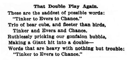 The Second-Most Famous Poem About Baseball