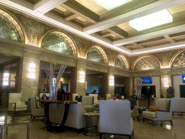 Congress Hotel lobby