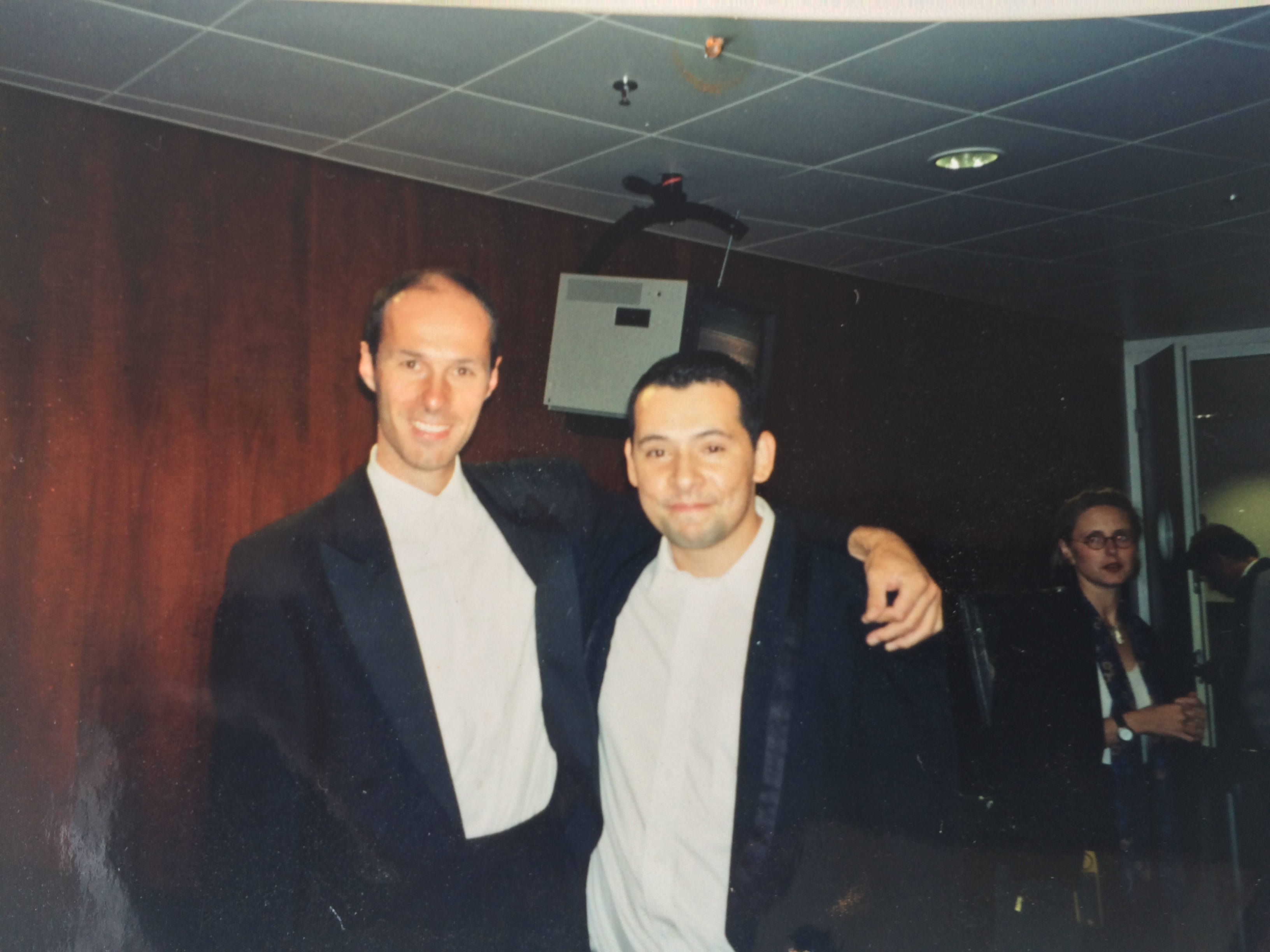 With  Stefan Schweigert