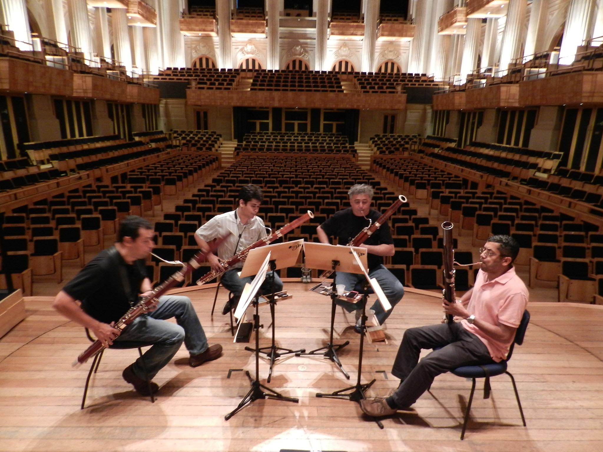 quarteto fagotes