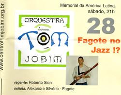 Orquestra Tom Jobim - Flyer