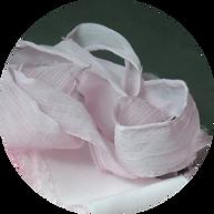 Crinkle Silk Ribbon