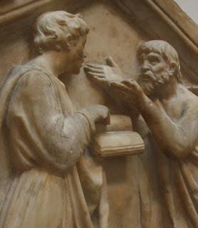 Platon_et_Aristote_par_Della_Robbia_détail.jpg