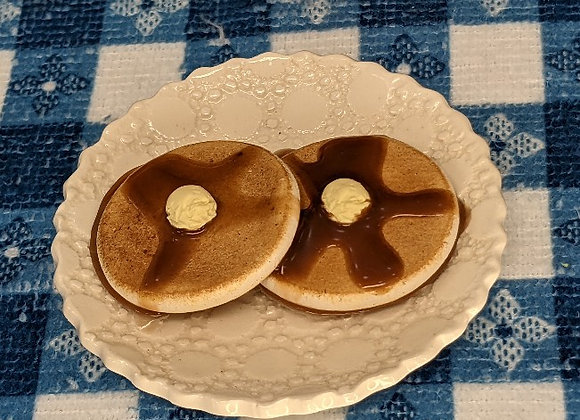 Pancakes with Maple Syrup