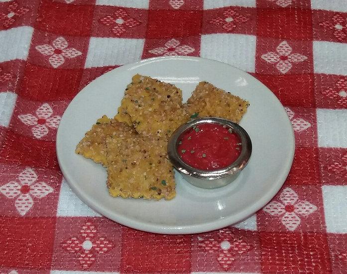 Fried Ravioli Appetizer