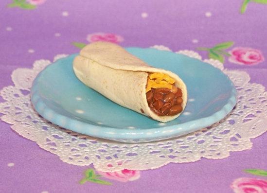 Beef & Bean Burrito
