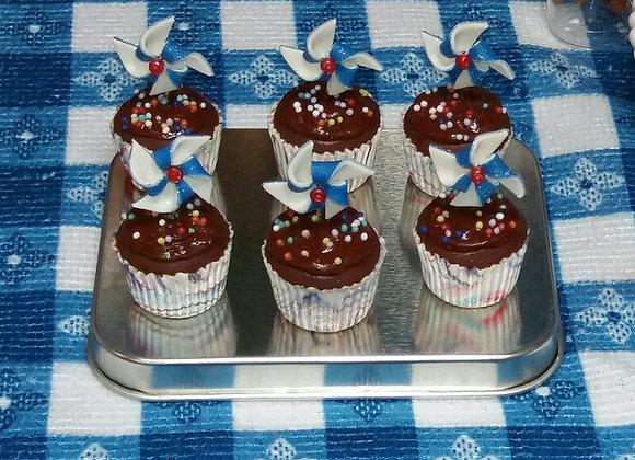 Pinwheel Cupcake (You Choose)