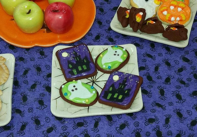 Chocolate Halloween Sugar Cookie (One)