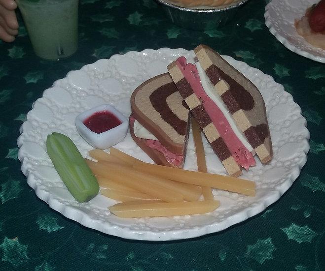Reuben Sandwich Lunch