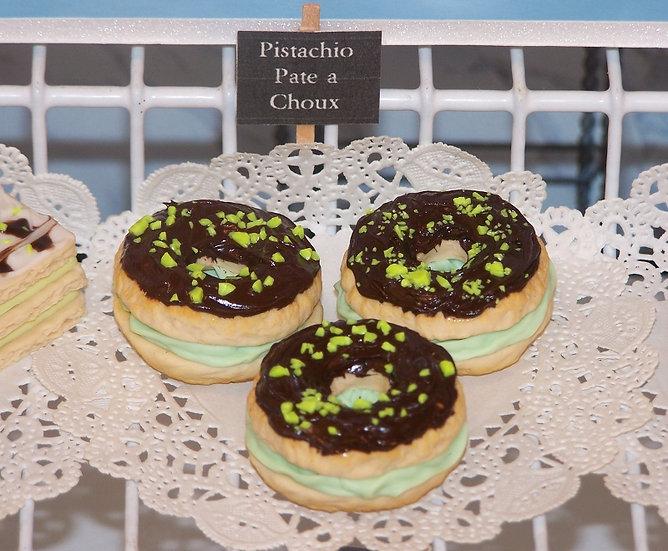 Pistachio Pate a Choux