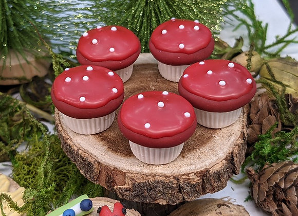 Toadstool Cupcake