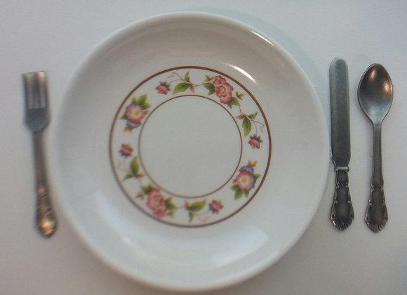Medium Tea Rose Dinner Plate
