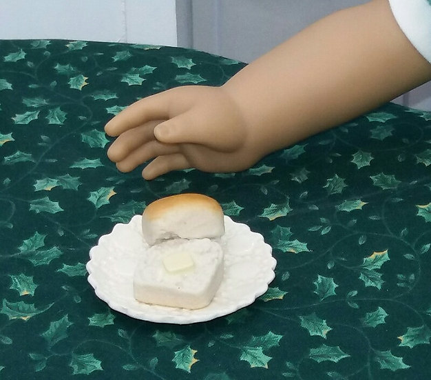 Buttered Dinner Roll
