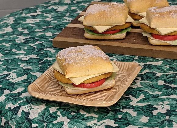 Crispy Chicken Ciabatta Sandwich