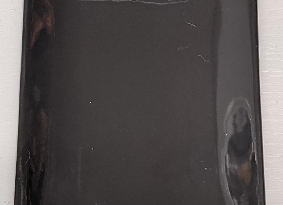 Black Rectangle Serving Tray (Ceramic)