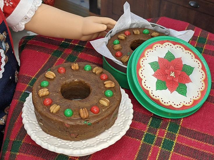 Large Round Fruitcake
