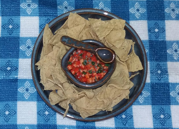 Salsa Bowl with Chips