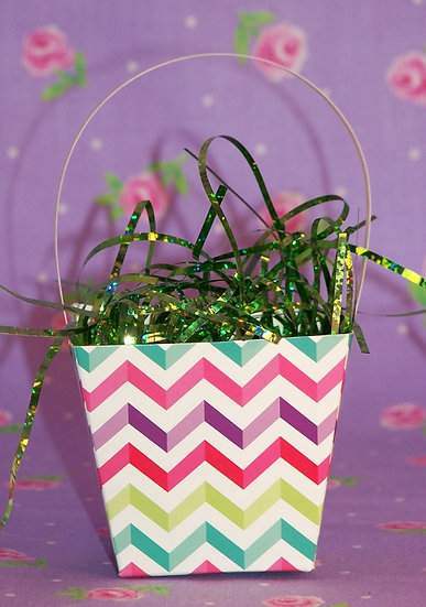 Chevron Easter Basket