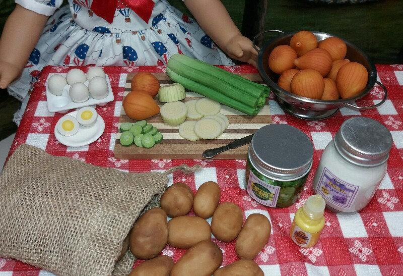 Potato Salad Ingredients - You Choose