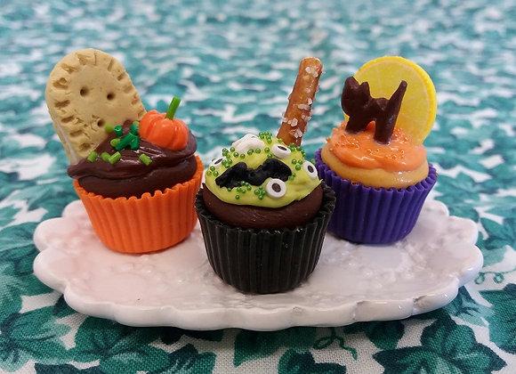 Halloween Cupcake (One)