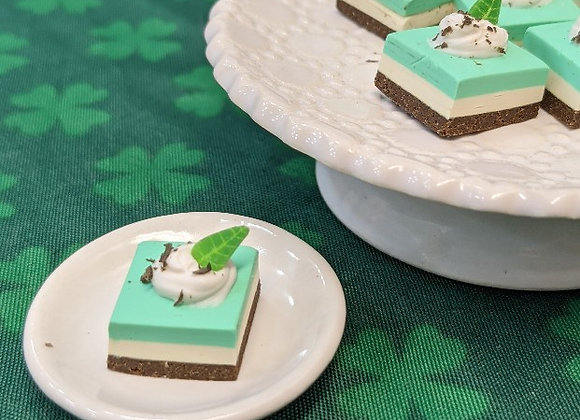 Grasshopper Cheesecake Bar Cookie
