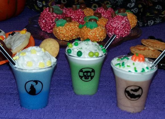 Halloween Milkshakes - You Choose