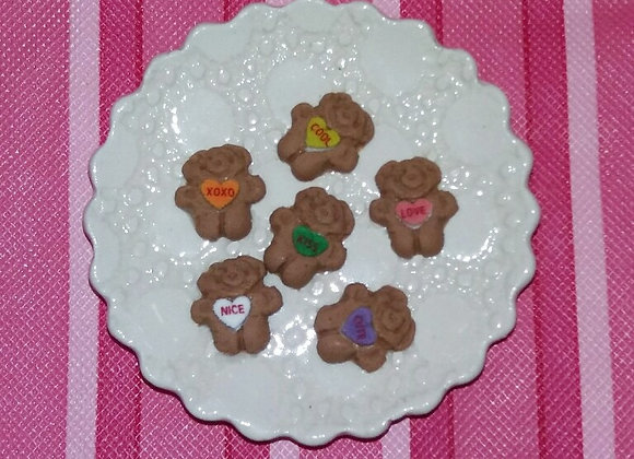 Candy Graham Bears 6 pc. set