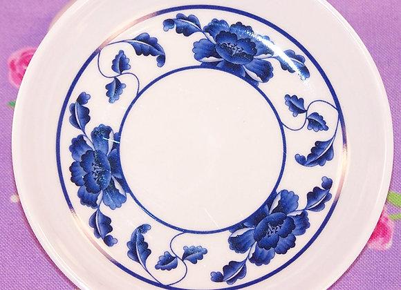 Blue Lotus Dinner Plate