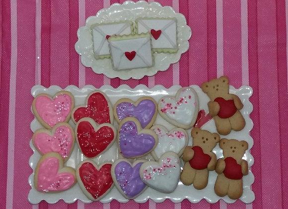 One Valentines Sugar Cookie