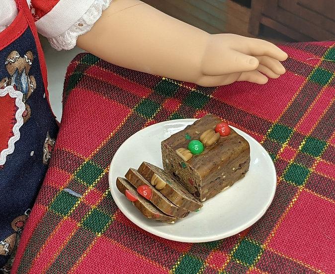 Mini Fruitcake Loaf