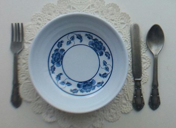 Blue Lotus Soup Bowl